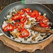 Pâtes au poulet et aux champignons - Des classiques abordables de la cuisine italienne