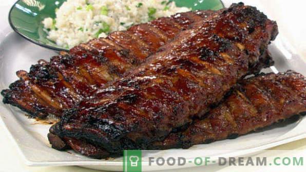 Comment cuire des côtes de porc au four, simples et savoureuses