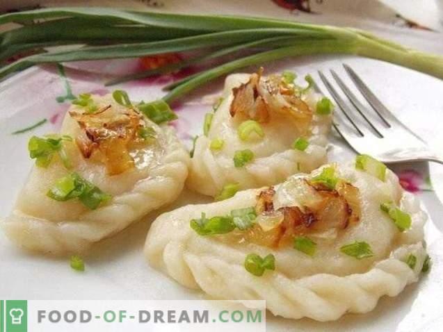 Dumplings aux pommes de terre