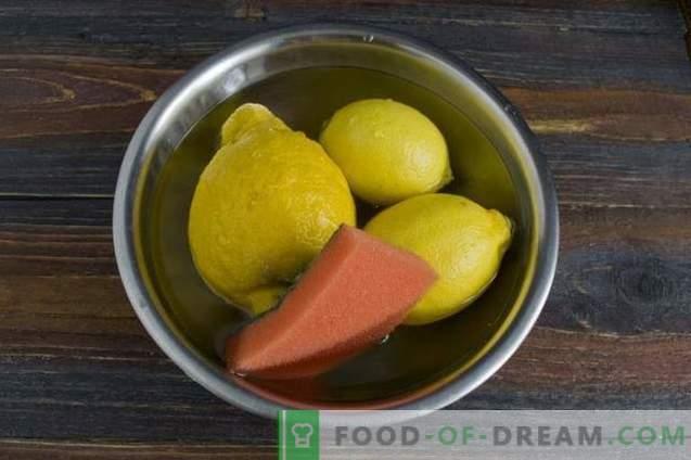 Confiture de citron - Recette rapide