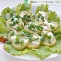 Salade printanière en couches
