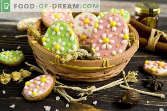 Biscuits de Pâques avec glaçage