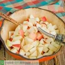 Ragoût de légumes aux pommes pour l'hiver - insolite et très savoureux