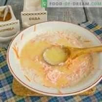 Cheesecakes aux carottes, raisins secs et cannelle