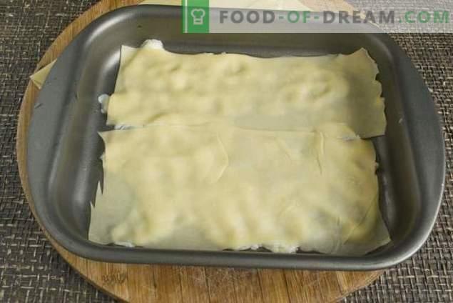 Lasagne au porc faite maison