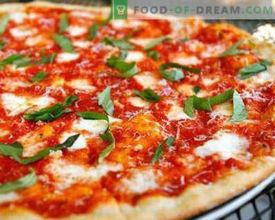 Pâte à pizza sans levure comme dans la pizza, recettes