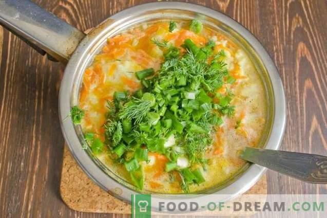 Sopa de peixe com bolinhos de batata