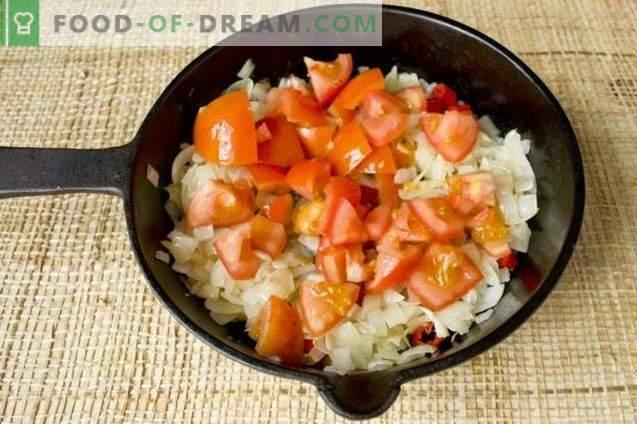 Soupe de betteraves rouges à la betterave avec poulet et champignons