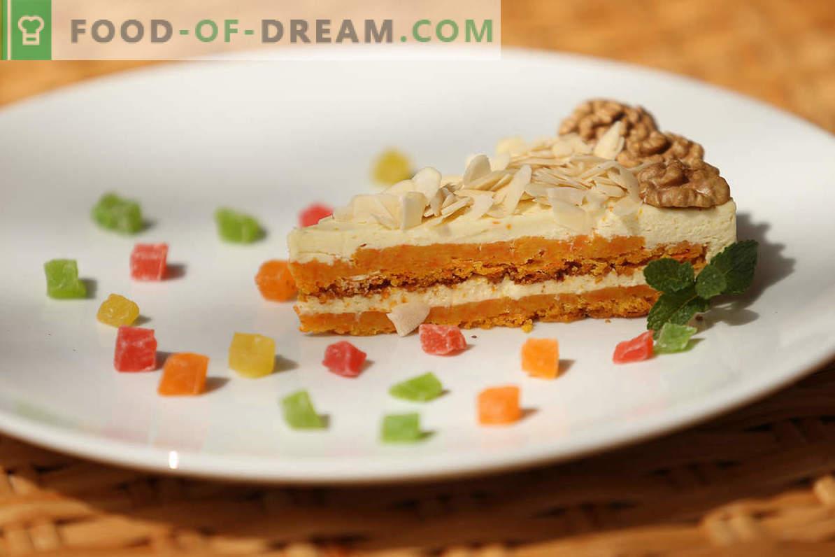 recette de gâteau aux carottes: comment cuisiner à la maison un gâteau aux légumes doux et délicat