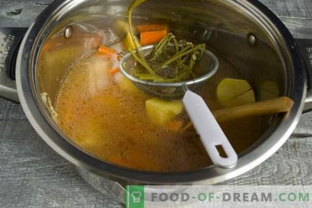 Soupe à la choucroute