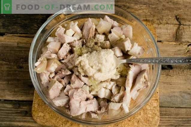Porc gélifié à la gélatine