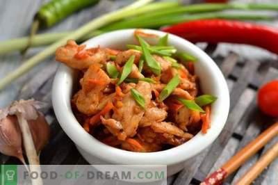 Poulet à la sauce aigre-douce