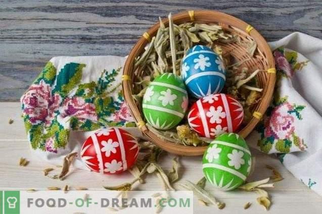 Beaux oeufs de Pâques à faire soi-même