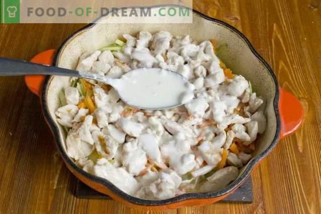 Ragoût de brocoli au poulet