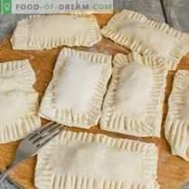 Feuilletés aux épinards, oeuf et fromage