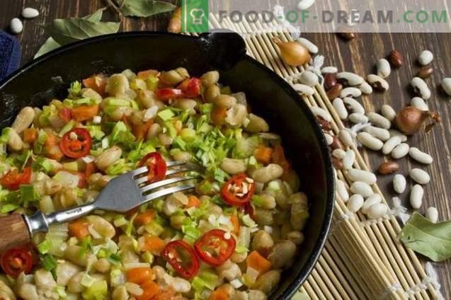 Ragoût de légumes aux haricots