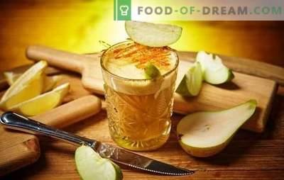 Teinture de pommes maison - rapide, utile, abordable, magique! Les principales méthodes de cuisson de la teinture maison de pommes