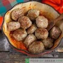 Boulettes de viande italiennes ou boulettes de viande à la sauce aux légumes
