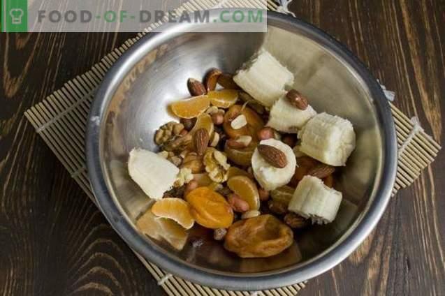 Tarte végétarienne aux fruits et aux noix