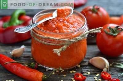 Ketchup fait maison à base de tomates fraîches et de poivrons