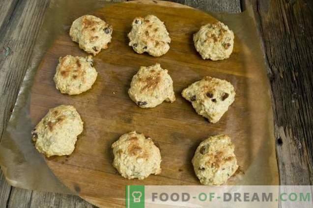 Des biscuits faits maison pressés