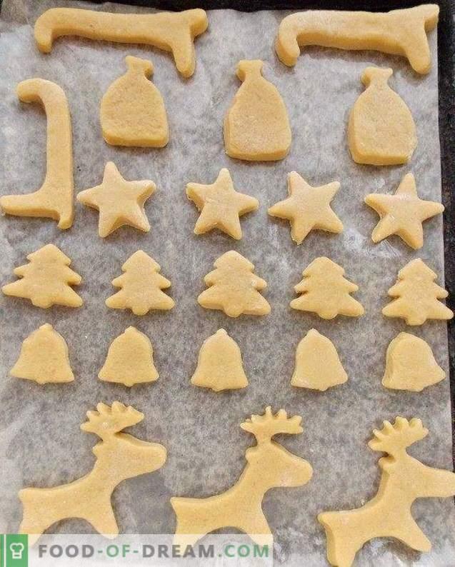 pain d'épice de Noël avec glaçure