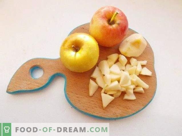 Cake aux graines de pavot et aux pommes