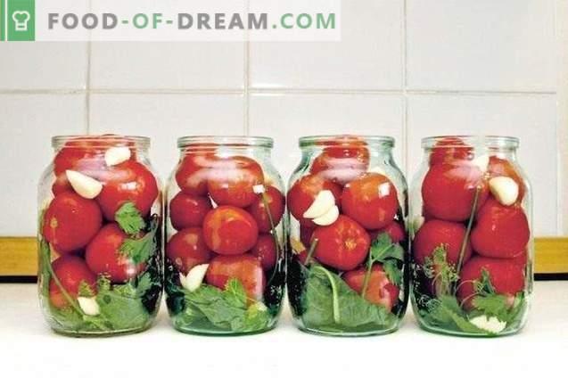 Les meilleures tomates marinées