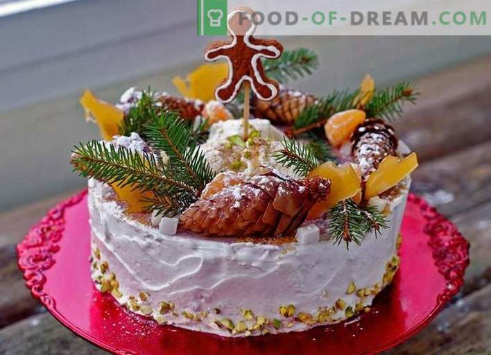 Gâteau du Nouvel An - recettes de gâteaux du Nouvel An