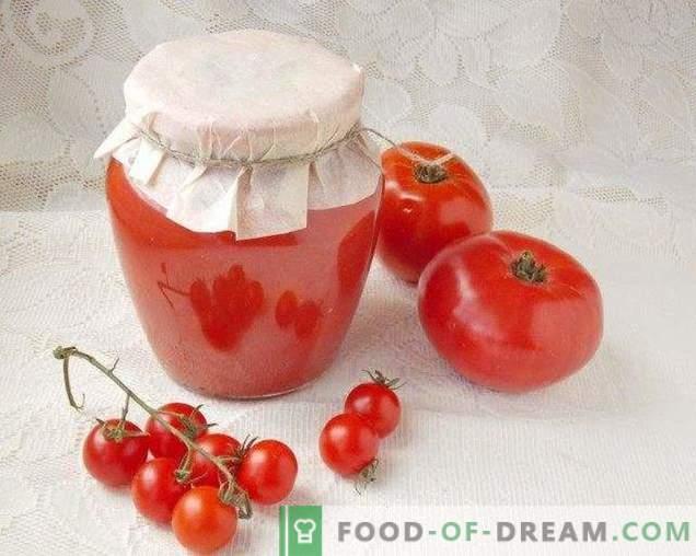 Tomates dans leur propre jus