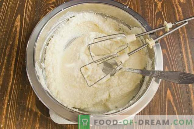 gâteau au fromage à la crème fouettée