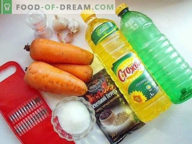 délicieuse carotte coréenne