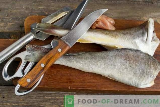 Un délicieux navaga au four - du poisson sous la marinade