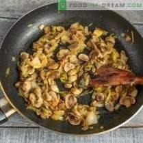 Côtelettes de poulet juteuses aux champignons