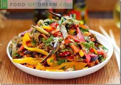 Aubergine coréenne - les meilleures recettes. Comment cuire correctement et savoureux aubergines en coréen.