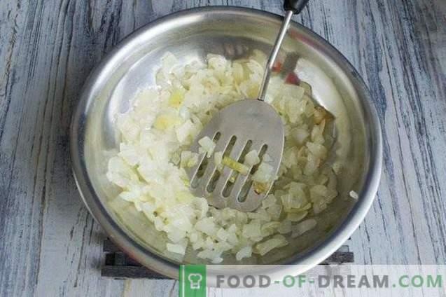 Tarte aux champignons avec poulet et légumes