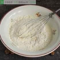 Biscuits maison simples dans une casserole