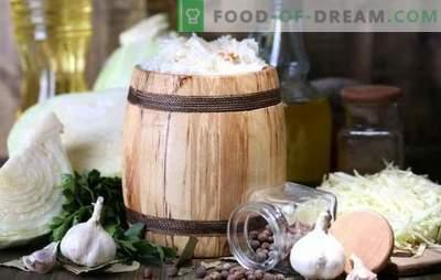 Les principes de stockage de la choucroute. Est-il possible de le conserver jusqu'au printemps?