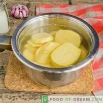 Purée de pommes de terre - recette lait et beurre
