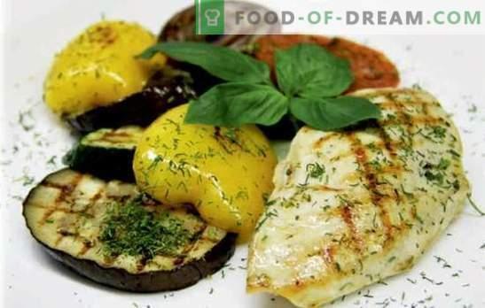Poitrine de poulet juteuse avec des légumes: délicieux! Les meilleures recettes de poitrine de poulet avec légumes, fromage, abricots secs, haricots, olives
