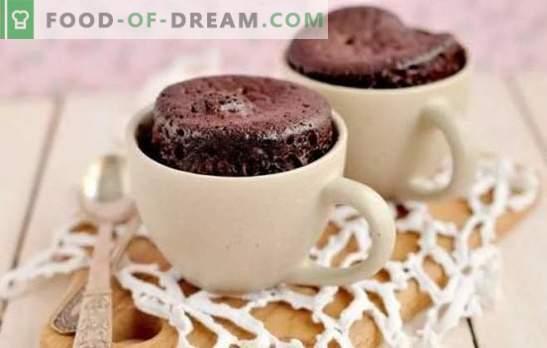 recettes de cuisson rapides: préparer rapidement! Recettes pas à pas pour les pâtisseries rapides: biscuits, muffins, petits pains, beignets