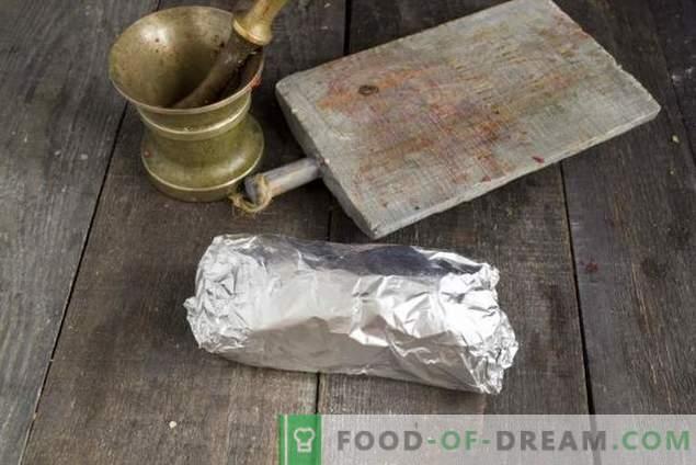 Feines gesalzenes Brisket für die Feiertage