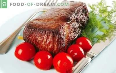 Boeuf à la tomate - un duo plein de goût! Une sélection des meilleures recettes pour la cuisson du bœuf tendre aux tomates.
