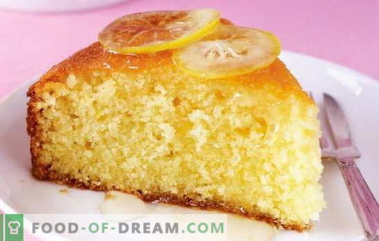 Pie sur le kéfir à la hâte - disponible! Les meilleures recettes de tartes au kéfir pressées: avec de la confiture, des pommes, du poisson, etc.