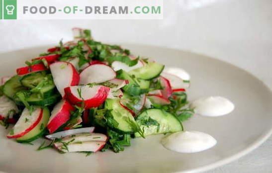 Les recettes préférées des salades simples pressées. Des salades simples pressées pour tous les jours et pour la table de fête