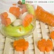 Assiette de légumes pour l'hiver