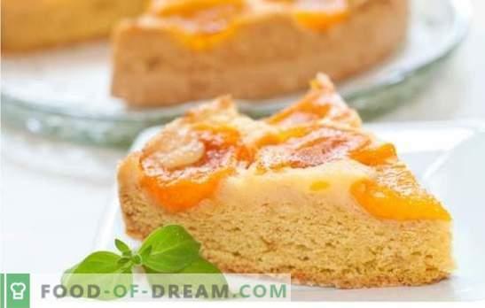 Charlotte aux abricots: recettes de gâteaux d'été! Variantes de charlotte incroyable avec des abricots, des recettes, des photos et les secrets des hôtesses