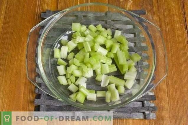 Soupe de légumes aux boulettes de poulet