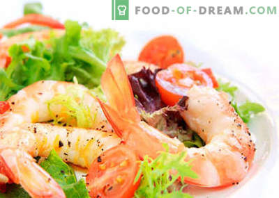 Les meilleures recettes sont la salade au chou chinois et aux crevettes. Cuire correctement la salade de crevettes et de chou chinois.
