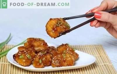Piščanec v medu-gorčični omaki je zlata ptica! Recepti za okusno piščanca v medu-gorčični omaki, celi in na rezine